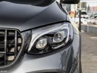 细节外观奔驰GLC级AMG头灯