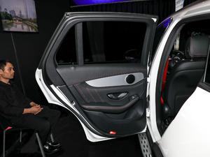 2018款AMG GLC 63 4MATIC+ 后车门