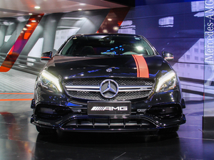 2018款AMG A 45 臻藏版 整体外观