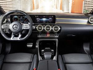 2018款AMG A 35 4MATIC 中控区