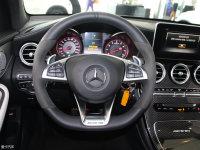 中控区奔驰GLC级AMG轿跑SUV方向盘