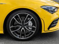 细节外观奔驰CLA级AMG猎装车细节外观