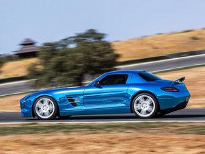 2014款AMG SLS Electric Drive 整体外观