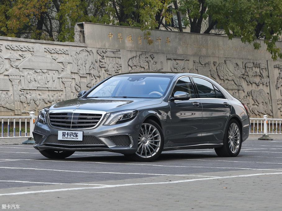 奔驰S级AMG售价253.8万起 暂无现金优惠