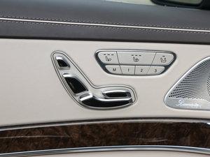 2014款AMG S 65L 座椅调节