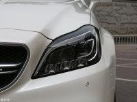细节外观奔驰CLS级AMG头灯