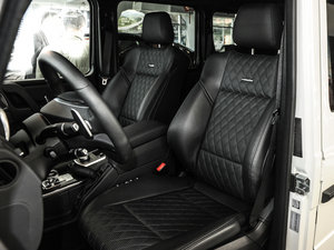 2016款AMG G 63 463 前排座椅