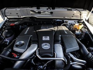 2016款AMG G 63 463 发动机
