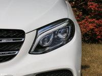 细节外观奔驰GLE级AMG头灯