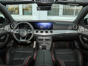 2017款AMG E 43 4MATIC 特别版 中控区