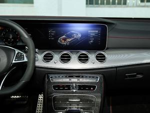 2017款AMG E 43 4MATIC 特别版 中控台