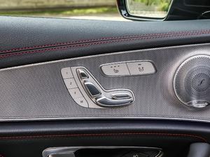 2017款AMG E 43 4MATIC 特别版 座椅调节