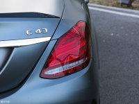 细节外观奔驰C级AMG尾灯