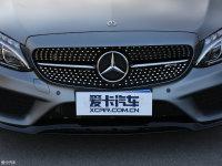 细节外观奔驰C级AMG中网