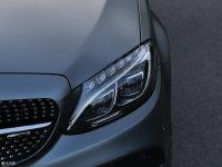 细节外观奔驰C级AMG头灯