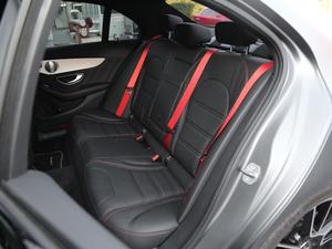 2017款AMG C 43 4MATIC 特别版 后排座椅
