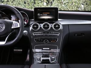 2017款AMG C 43 4MATIC 特别版 中控台