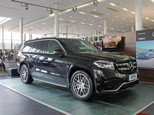2017款AMG GLS 63 4MATIC 正侧45度