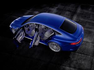 2018款AMG GT 63S 四门版 整体外观