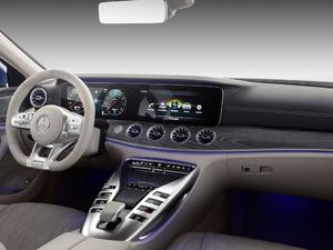 2018款AMG GT 63S 四门版 中控区