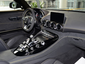 2017款AMG GT S限量特别版 中控台