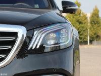 细节外观奔驰S级AMG头灯