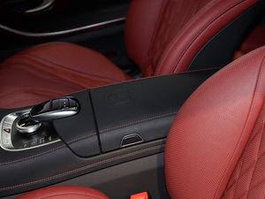 2017款AMG S 63 Coupe 前排中央扶手