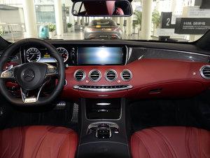 2017款AMG S 63 Coupe 全景内饰