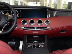 2017款AMG S 63 Coupe 中控台
