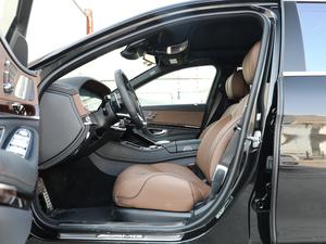 2018款AMG S 63L 4MATIC+ 前排空间