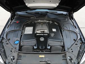 2018款AMG S 63L 4MATIC+ 发动机