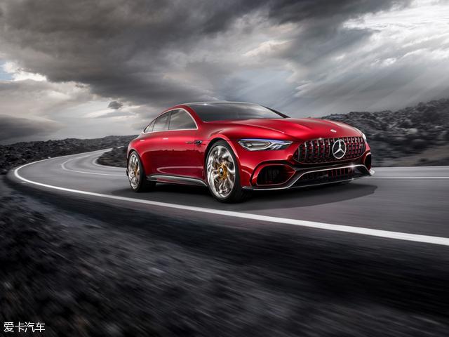 奔驰AMG2017款GT Concept