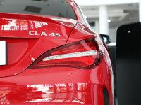 细节外观奔驰CLA级AMG尾灯