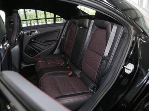 2017款改款 AMG CLA 45 4MATIC 后排座椅
