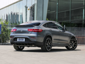 2017款AMG GLC 43 4MATIC Coupe 整体外观