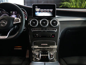 2017款AMG GLC 43 4MATIC Coupe 中控台