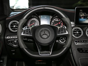 2017款AMG GLC 43 4MATIC Coupe 方向盘