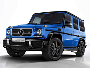 2017款AMG G 63 50th Anniversary Edition 整体外观