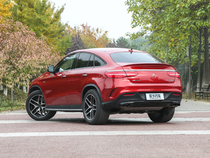 2017款AMG GLE 43 4MATIC 后侧45度