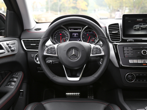 2017款AMG GLE 43 4MATIC 方向盘