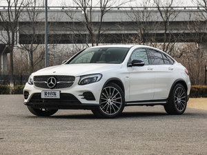 2017款AMG GLC 43 4MATIC Coupe 正侧45度