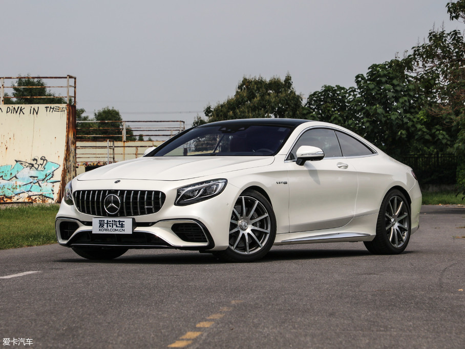 2018款奔驰S级AMG双门AMG S 63 Coupe 4MATIC+