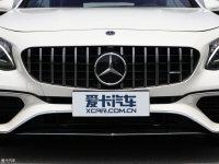 细节外观奔驰S级AMG双门中网