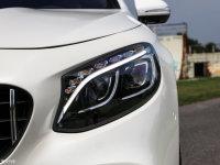 细节外观奔驰S级AMG双门头灯