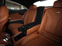 空间座椅奔驰S级AMG双门后排中央扶手