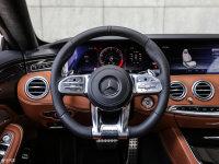 中控区奔驰S级AMG双门方向盘