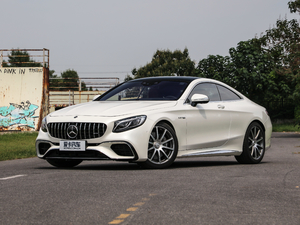 2018款AMG S 63 Coupe 4MATIC+ 正侧45度