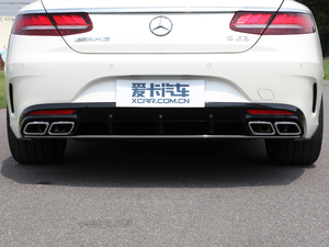 2018款AMG S 63 Coupe 4MATIC+ 尾排