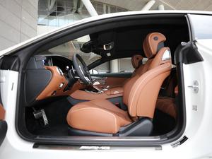 2018款AMG S 63 Coupe 4MATIC+ 前排空间