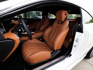 2018款AMG S 63 Coupe 4MATIC+ 前排座椅